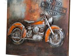 metal wall art motorcycle