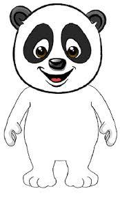 Kleurplaat Schattige Pandabeer Leuk Voor Kids Pandabeer 0004