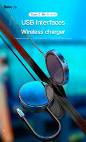 <b>Хаб Baseus Circular Mirror</b> Wireless Charger HUB купить в Минске ...