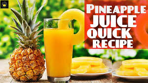 pineapple juice by chef food easy drinks recipes iftar drinks ramadan recipes ramadan special