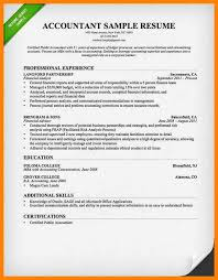 Collection Of Solutions Splendid Certified Public Accountant Resume