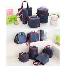 <b>Portable</b> Oxford Travel Picnic <b>Storage Bag</b> Outdoor Food Organizer ...
