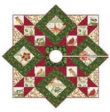 christmas tree skirt quilt | Free Quilt Pattern: Stars All Around ... & Quilt Inspiration: Free pattern day! Christmas Tree skirts Adamdwight.com