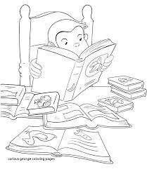 Coloring Pages Curious George Coloring Book Pages Mini Curious