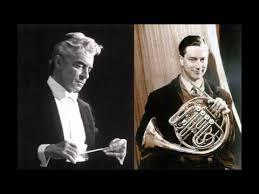 Dennis Brain, Mozart Horn Concerto <b>No</b>.<b>1 n D</b> major K 412 - YouTube