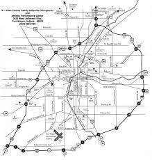 map of fort wayne, indiana & surrounding area Ft Wayne Indiana Map Ft Wayne Indiana Map #11 fort wayne indiana map