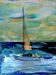 abstract sailing paintings sailboat and abstract digital art anita burgermeister