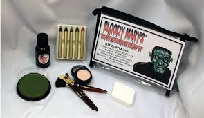 amazon frankenstein monster makeup kit by mary special effects costume decoration professional foundation makeup fx blood