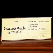 Free Printable Holiday Gift Certificates Stunning Garrett Wade Tool Gift Certificates Garrett Wade