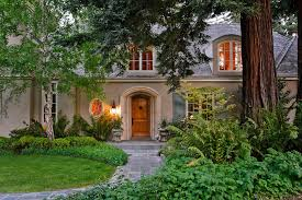 french house lighting. French House Entry Mediterranean With Decorative Garden Urns Front Yard Lighting