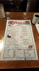 See restaurant menus, reviews, hours, photos, maps and directions. Menu Picture Of The Copperline Eatery Chicopee Tripadvisor