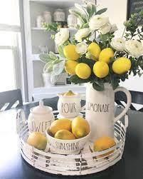 32 Lemon Kitchen Decor Ideas Lemon Kitchen Lemon Kitchen Decor Lemon Decor