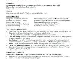 Mechanic Resume Examples Adorable Automotive Mechanic Resume Samples Auto Mechanic Description Auto