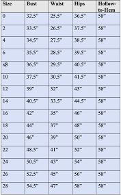 Bridesmaid Dress Size Chart Your Ultimate Guide To Bill Levkoff Bridesmaid Dresses