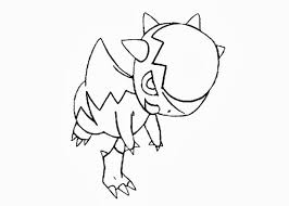 20 Cranidos Pokemon Coloring Pages Ideas And Designs