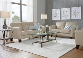 Contemporary leather living room furniture Sala Set Design Shop Now Livorno Beige Leather Pc Living Room Rooms To Go Leather Living Room Sets Furniture Suites