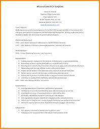 Resume Format Word Resumes Best Document European Curriculum Vitae