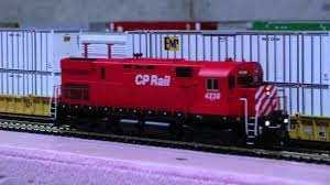 Ho Ditch Lights Canadian Pacific Atlas C424 With Working Ditch Lights And