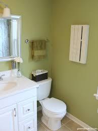 Pallet Wall Bathroom Green With Decor Decorating The Bathroom Walls
