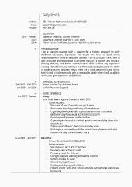 Nanny Resume Sample Nanny Resume Sample Awesome Examples Personal