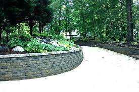 landscape retaining wall blocks decorative landscaping awesome block molds diy land