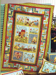 Garden Song Panel Quilt Kit | Crafts - Quilt | Pinterest | Panel ... & Garden Song Panel Quilt Kit Adamdwight.com