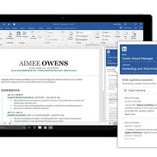 Linked In Resume Microsoft Integrates LinkedIn With Word To Help You Write A Resume 22