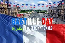 Bastille Day in France ...