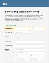 Scholarship Aplication Form Tuesday Template Managing Scholarship Applications Online