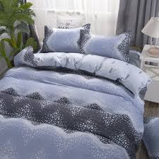 premium 4 in 1 all sizes bedding set simple and soft family set include
