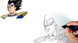 Comment Dessiner Vegeta Youtube