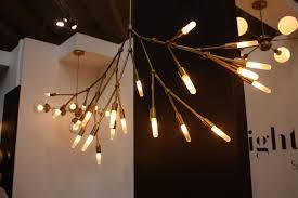 branch brass lighting