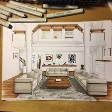 interior design living room drawings. Wonderful Living Likes 13 Comments  Arch With Interior Design Living Room Drawings