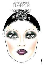 similar ideas 1920s makeup