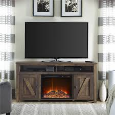 com ameriwood home farmington electric fireplace tv console for tvs up to 60 rustic kitchen dining