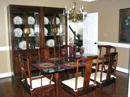 henredon dining table dining table and chairs henredon dining table set