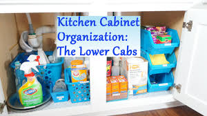 Kitchen Cabinet Organization Tips Kitchen Cabinet Organization Ideas The Lower Cabs Youtube
