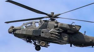 Indian Air Force Gets Its First Apache Helicopter From Us The Sentinel
