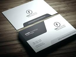 Free Business Card Template For Word Personal Business Cards Templates Free Personal Business Card