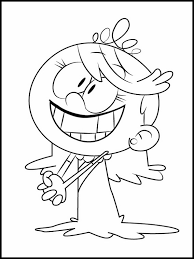 The Loud House Coloring Pages 1