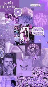 Pinterest Aesthetic Iphone Wallpaper Lila