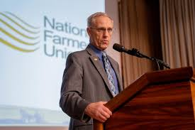 Johnson to Retire from Role as Farmers Union President   National Farmers  Union