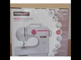 Hobbycraft Multi Stitch Sewing Machine Review