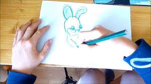 Apprendre A Dessiner Les Lapins Cr Tins Youtube