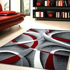trendy red and gray area rugs 39 zipcode design rug white wine black penelope
