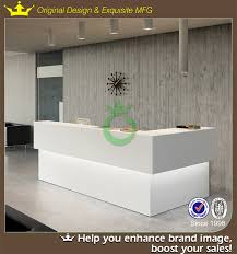 office counter designs. elegant style gloss white front office counter design designs