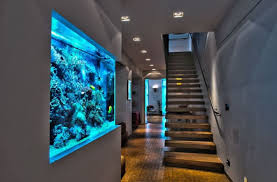 fish tank lighting ideas. Modern Home Ideas With Unique Floating Stairs Using Charming Interior Lighting And Amazing Fish Tank R