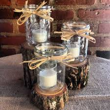 Glass Jar Table Decorations Best Mason Jar Centerpieces For Wedding Reception Contemporary 39
