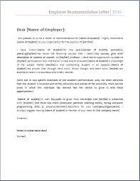 Employee re mendation letter 2