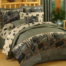 comforter bedding sets regarding the bears rustic inspirations 1